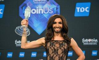 KLÕPS | Eurovisioni võitnud Conchita Wurst tegi läbi suure stiilimuutuse