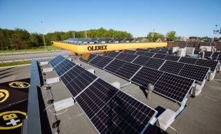 ФОТО | Olerex начнет производить на своих станциях солнечную энергию