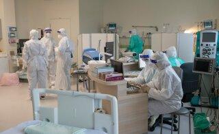 За сутки в Эстонии выявлено 1542 случая заражения коронавирусом. Скончались 7 человек