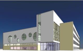 Заложен краеугольный камень в основание будущего здания гимназии Мустйыэ
