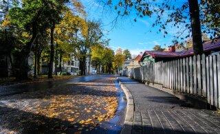 На улице Поска в Кадриорге начался основательный ремонт
