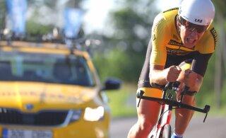 Norman Vahtra võitis temposõidu Eesti meistrivõistluste peaproovi