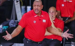 NBA play-off'is täielikult põrunud LA Clippers jättis nimeka peatreeneriga hüvasti