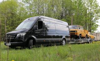 Proovisõit: lipulaevkaubik Mercedes-Benz Sprinter kuraditosinas pildis