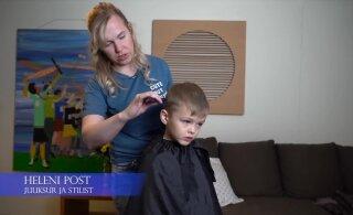 VIDEO | Hoia kokku raha, aega ja närve — õpetame, kuidas ise lapsel juukseid lõigata