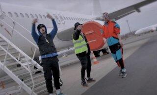 ВИДЕО | Местная свежесть: русские парни сняли клип в аэропорту и показали кучу денег