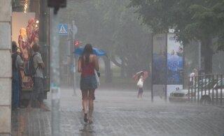 """Teisipäeva õhtul võib Eestisse jõuda tugevat äikesevihma ja võimsaid tuulepuhanguid toov """"lõunatsüklon"""""""