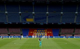 FC Barcelona mängija andis positiivse koroonaproovi