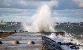 Объявлено штормовое предупреждение: скорость ветра до 25 м/с!