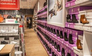 Euroopa jalatsihiid avas Eestis lühikese ajaga juba teise poe