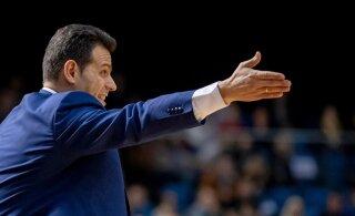 Moskva CSKA juhendaja valiti Euroliiga parimaks treeneriks, Tallinnasse saabuv Šarunas Jasikevicius jäi kolmandaks