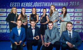 ФОТО: Ксения Балта и Магнус Кирт - лучшие легкоатлеты Эстонии 2020 года