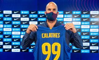 Barcelonaga liitunud Calathes: ma vihkasin Jasikeviciust, sest ta karjus mu peale