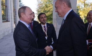Venemaa ja Türgi leppisid kokku sõjalise kontrolli jagamises Süüria aladel