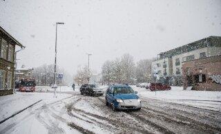 Heitlik ilm jätkub: järgmistel päevadel sajab nii lund, lörtsi kui vihma