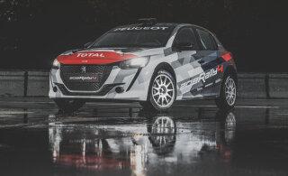 Peugeot tutvustas uhiuut ralliautot