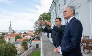 Ратас на встрече с президентом Литвы: мы осознаем ценность свободы