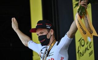 Võimsa lõpu teinud taanlane noppis teise etapivõidu, üldliider Roglic säilitas edu