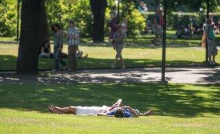Tallinnas sündis tänase kuupäeva soojarekord, 30,9 kraadi