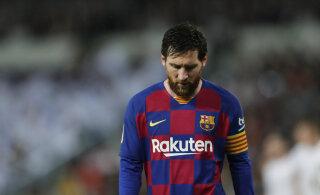 Lionel Messi jätab ilmselt Barcelona avamängu vahele