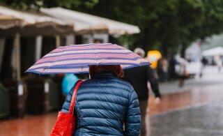 Лето, пока? Ближайшие дни будут дожди, но ниже 16 градусов не опустится