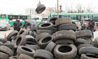 Минэкономики собирается запретить не подходящие для Эстонии зимние шины