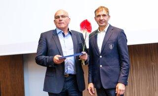 FOTOD | Tänaku suurtoetajat Oleg Grossi ja veel viit sporditegelast pärjati EOK teenetemärgiga