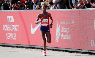 Etioopia jooksja parandas poolmaratoni maailmarekordit