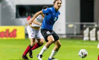 Тяжелая травма надолго вывела из строя форварда сборной Эстонии