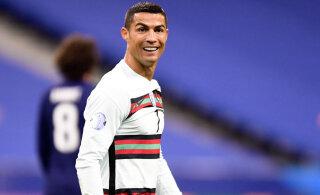 Cristiano Ronaldo koroonaike sai pärast pikka ootust läbi