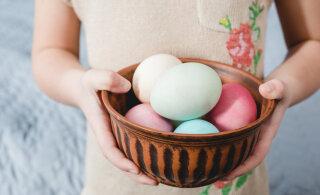 Hea nipp: looduslikud munavärvid leiad köögikapist