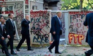 Трамп пригрозил использовать армию для подавления беспорядков в США