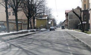Улица Луйзе будет временно закрыта для движения