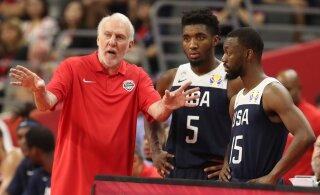 Ebaõnnestunud USA korvpallikoondis teeb MM-il negatiivset ajalugu