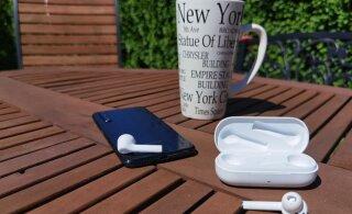 TEST | Huawei juhtmeta kõrvaklapid Freebuds 3i: müra kinni, kõrgemad sagedused valla!
