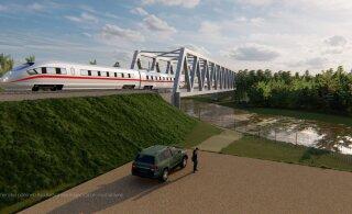 Дополнительное финансирование Rail Baltic обойдется Эстонии дороже, чем предполагалось
