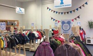 В центре Таллинна открывается детский магазин подержанных товаров