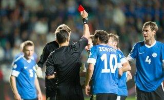 Eesti kohtunikud teenindavad jalgpalli EM-valikmängu