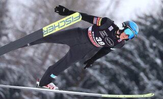 Первое золото в двоеборье выиграл норвежец. Ильвес заехал в ТОП-20