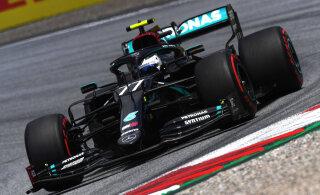 Vormel 1 on tagasi! Valtteri Bottas võitis Austria GP kvalifikatsiooni, Ferraril oli kohutav päev