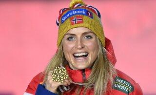 ВИДЕО: Йохауг и другие. Норвежка выиграла разделку в одни ворота