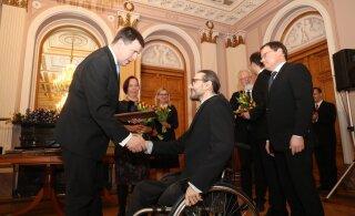 ФОТО: Вручены государственные премиии в области науки, культуры и спорта