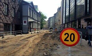 Столичная улица Роозикрантси станет местом археологических исследований