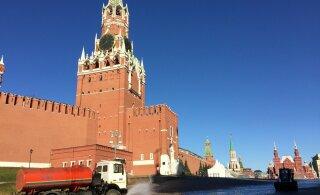 На территории Кремля нашли бомбу: была скрыта большим слоем земли