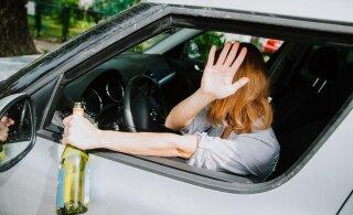 В Иванову ночь полиция задержала 50 водителей в нетрезвом состоянии
