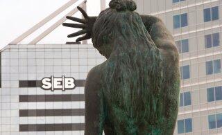 Банковские конторы SEB переходят на обслуживание по предварительной регистрации