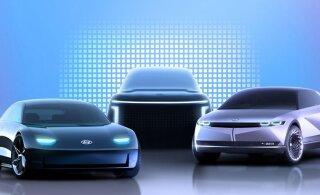 Hyundai kuulutas välja uue, elektrisõidukitele keskenduva brändi IONIQ