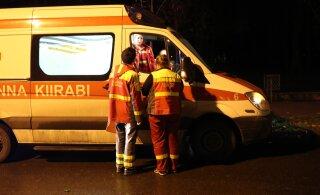 В Таллинне в авариях пострадали два пешехода