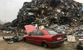 Kurb, aga mitte lootusetu: Citroën Xsara viimne teekond metallipurustisse