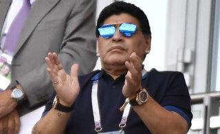 Кандидат в президенты испанской федерации футбола договорился, что сборную возглавит Марадона